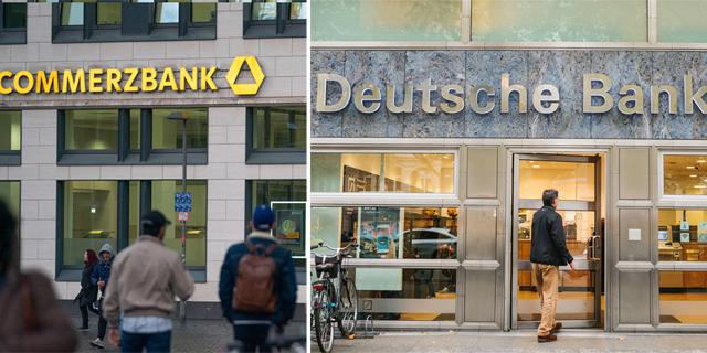 """אין מיזוג: כישלון במו""""מ בין דויטשה בנק וקומרצבנק"""