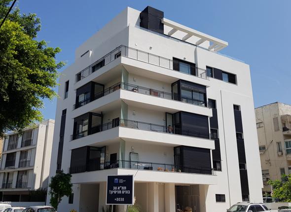 """פרויקט תמ""""א 38 של החברה לחיזוק מבנים ברחוב שילה 6 בתל אביב"""
