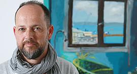 האמן בועז נוי פנאי, צילום: צביקה טישלר