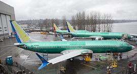 בואינג 737 מקס 8 המיועד לצ'יינה סאות'רן איירליינס במפעל החברה ב וושינגטון, צילום: בלומברג