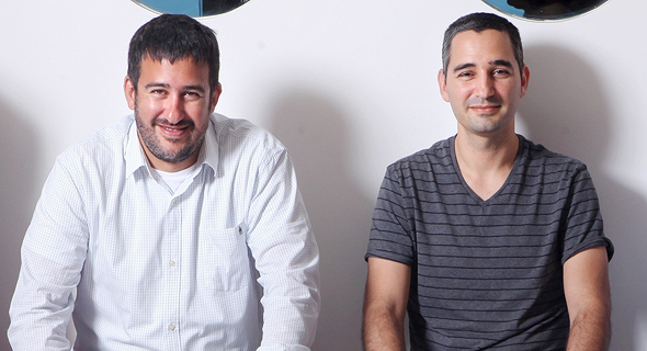 Zerto co-founders Ziv (left) and Oded Kedem. Photo: Amit Sha'al