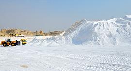 מפעלי ים המלח מכרה אשלג של כיל ב ים המלח, צילום: גיא אסיאג