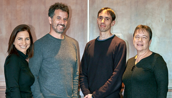 Ibex co-founders, chief medical officer and chief strategy officer. Photo: PR