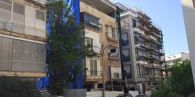 """פרויקט התחדשות עירונית בתל אביב זירת הנדל""""ן, צילום: רונן ניב"""