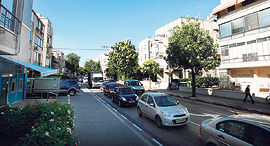 רחוב יהודה המכבי בתל אביב ברובע 4, צילום: עמית שעל