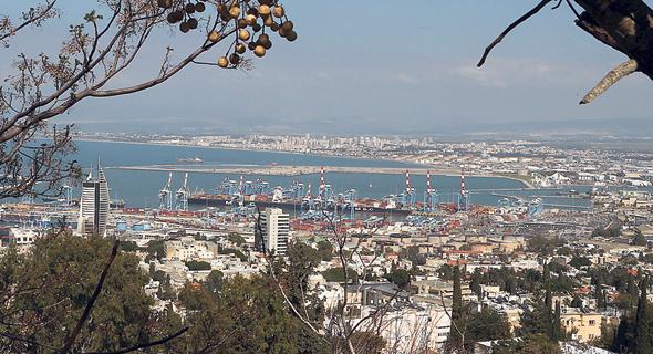 מפרץ חיפה, צילום: אלעד גרשגורן