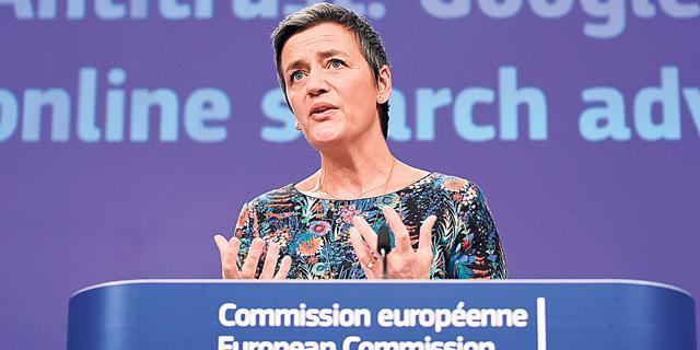 מרגרטה וסטאגר, נציבת התחרותיות באיחוד האירופי+, צילום: AFP