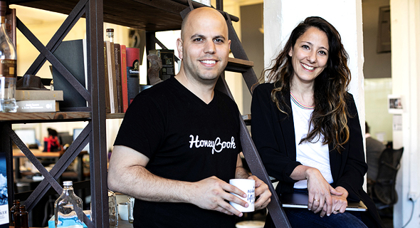 Oz and Naama Alon, HoneyBook's co-founders.Photo: Alon Reuveni