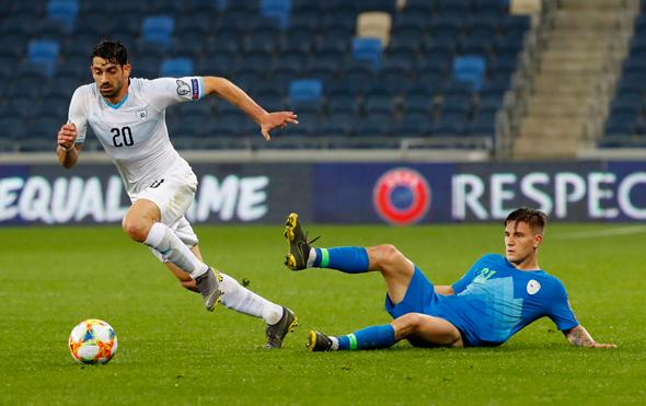 נבחרת ישראל נגד סלובניה