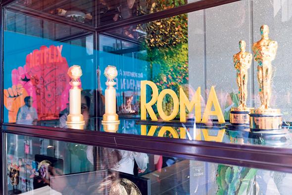 """פסלוני הזכייה של """"רומא"""""""