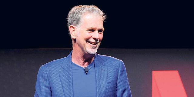 """מנכ""""ל נטפליקס ריד הייסטינגס. חוזה של 200 מיליון דולר ליוצרי משחקי הכס, צילום: נטפליקס"""
