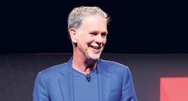 """ריד הייסטינגס מייסד ומנכ""""ל נטפליקס, צילום: נטפליקס"""