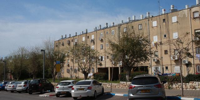 בניין המיועד לפינוי-בינוי. פוטנציאל לעשרות אלפי דירות באזורי הביקוש , צילום: אוראל כהן