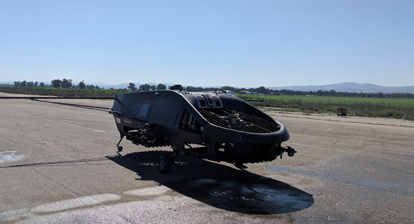 כלי טיס בלתי מאויש לריסוס אוויר של חברת אדמה ו טקטיקל רובוטיקס, צילו: יחצ