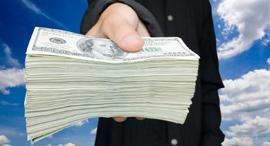 עושר עשירים מס כסף דולרים, צילום: שאטרסטוק