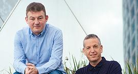 מייסדי Kardome (משמאל) דני צ'רקסקי ואלון סלפק
