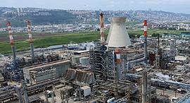 מפעל בזן חיפה 25.3.19, צילום: טל אזולאי