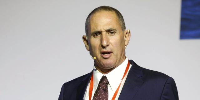 """ועידת התעשייה של ישראל אורי הדומי מנכ""""ל מזור רובוטיקה, צילום: עמית שעל"""