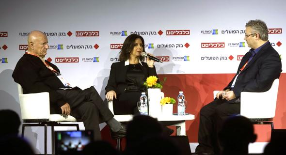 אורנה הוזמן בכור ו יהודה שגב בשיחה עם ליאור גוטמן, צילום: עמית שעל