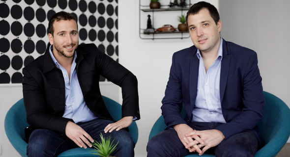 Perimeter 81 co-founders Amit Bareket and Sagi Gidali. Photo: PR