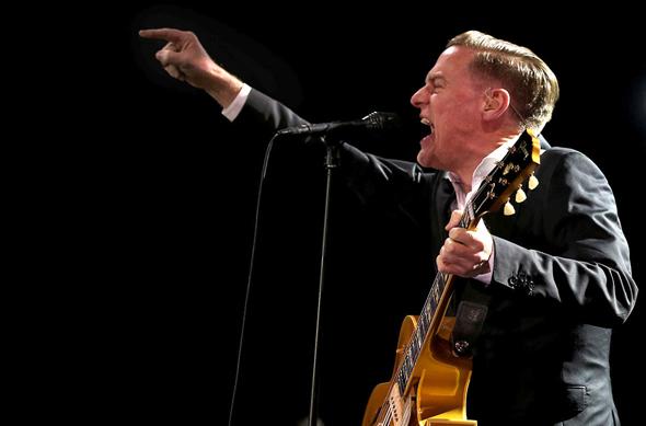 הזמר בריאן אדמס , צילום: אי פי איי