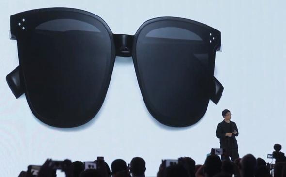 וואווי משקפיים חכמים , צילום: youtube