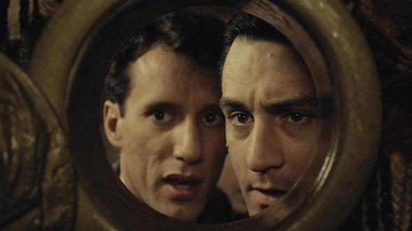 """מתוך """"היו זמנים באמריקה"""". אחד מ־500 סרטים שזכו ללחניו של מוריקונה, צילום: יחצ"""