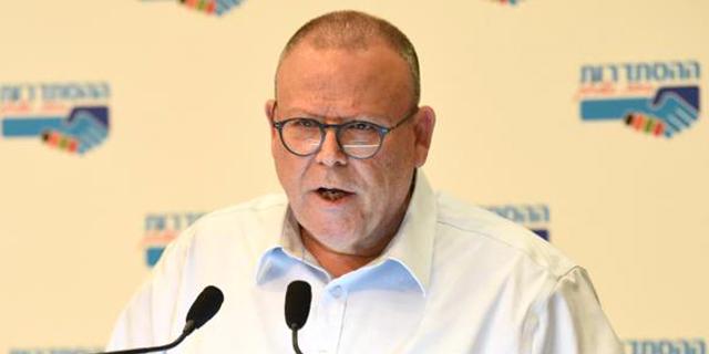 """יו""""ר ההסתדרות, ארנון בר דוד, צילום: אגף הדוברות בהסתדרות"""