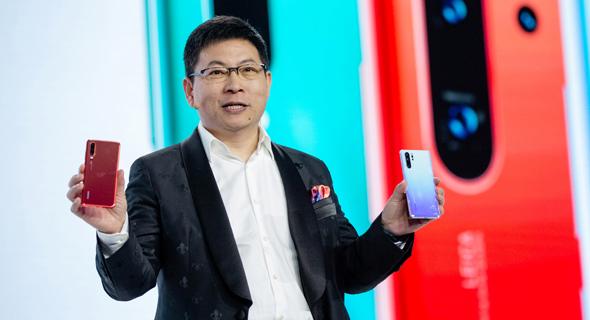ריצ'ארד יו מנכ״ל חטיבת האלקטרוניקה הצרכנית של הענקית הסינית וואווי, צילוםףף בלומברג