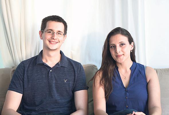 מייסדי Convizit: דניאל בשארי ודניאל פלוטקין