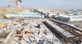 בניית אזור תעשייה במישור אדומים, צילום: יחצ