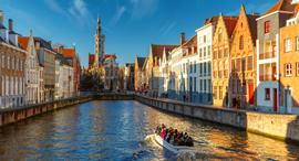 פוטו ערים עם תעלות ברוז בלגיה, צילום: שאטרסטוק