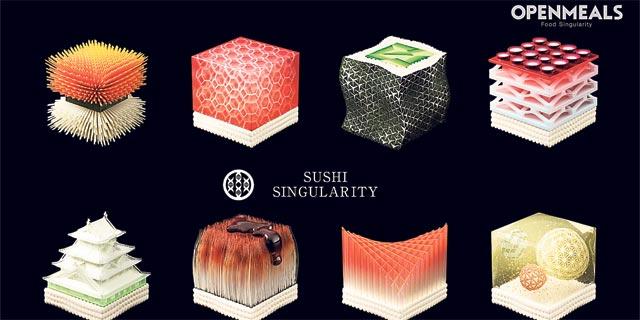 המסעדה היפנית שתדפיס סושי - בהתאם לרגישויות של הסועדים