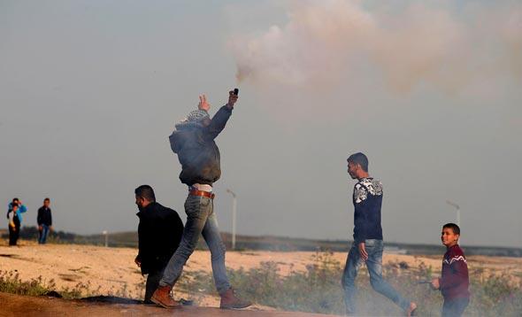 התפרעויות בגבול עזה (צילום ארכיון), צילום: איי אף פי