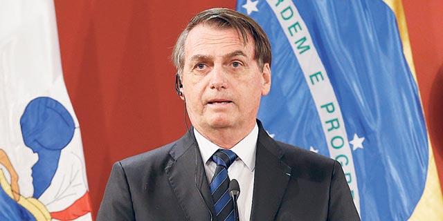 גם לו מותר: בולסונרו מאיים להוציא את ברזיל מארגון הבריאות העולמי