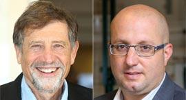 מימין: תמיר כהן ונתי סיידוף, צילומים: עמית שעל , אוראל כהן