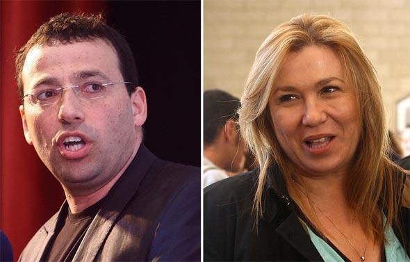 איילה חסון ורביב דרוקר. הרשת גועשת