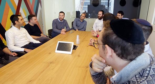 מפגש של יזמי קמא-טק, צילום: עמית שעל