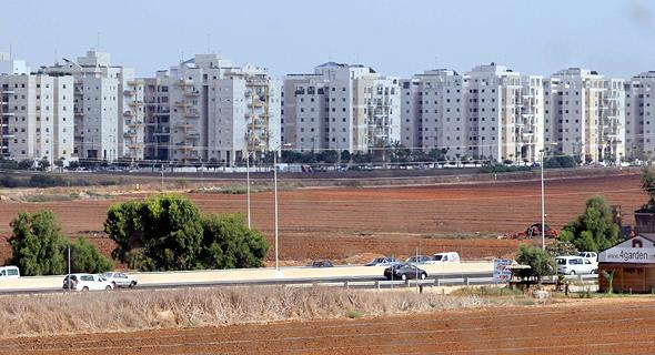 נתניה. המגדלים מהווים רבע מכלל הבנייה החדשה