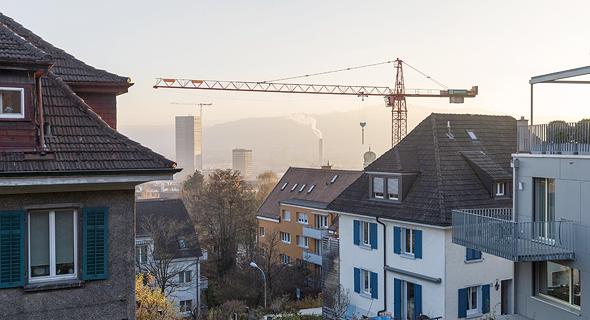 ציריך, שוויץ. ירידה בהתחלות הבנייה, צילום: בלומברג