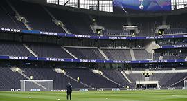 יציע ב אצטדיון טוטנהאם החדש, צילום: איי אף פי