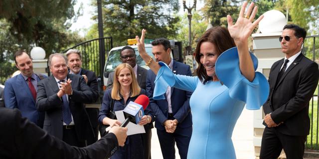 """העונה האחרונה של """"Veep"""": כשהנשיא כתום, הסאטירה חלודה"""