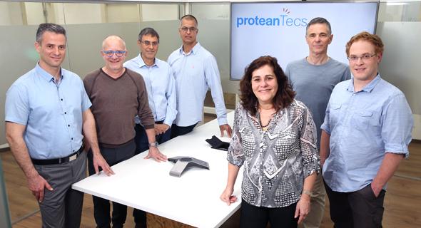 ProteanTecs' team. Photo: Elad Gershgoren
