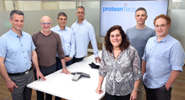 The ProteanTecs team. Photo: Elad Gershgoren