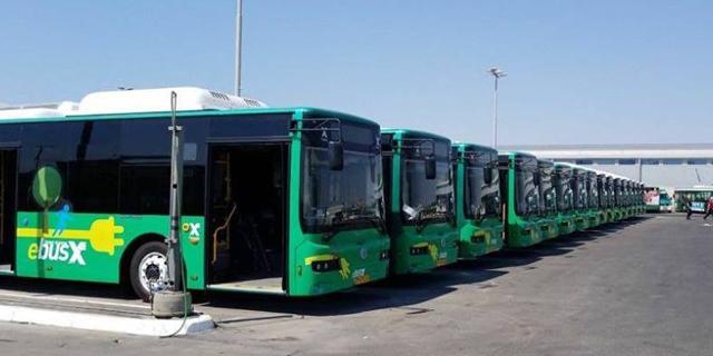 חגי שלום ודני בליליוס ירכיבו אוטובוסים סיניים בקריית מלאכי