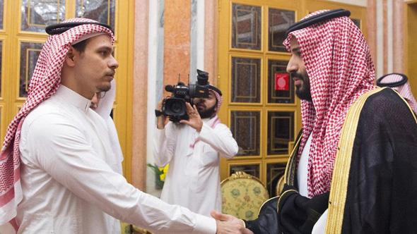 יורש העצר הסעודי, מוחמד בן סלמאן, וסלאח חשוקג