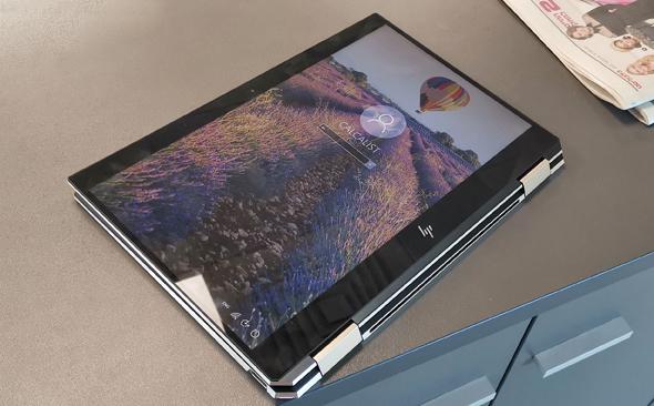לפטופ HP X360 ספקטר, צילום: ניצן סדן