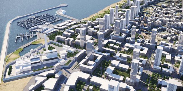 35 מגדלים של 40 קומות: תוכנית שדה דב הופקדה להתנגדויות הציבור
