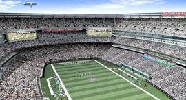 אצטדיון פוטבול בניו ג'רזי, צילום: בלומברג