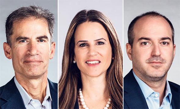 New Era's co-founders Gideon Argov (left), Ayelet Frish, and Ran Simha. Photo: Elad Malka